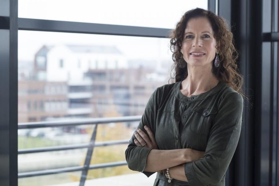 PSO-adviseur Extend in gesprek met HR-manager Rieneke Leusink van Ter Steege Holding