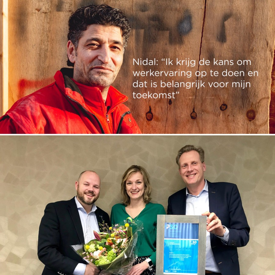 Arno van den Thillart: ''Samen bouwen we aan ruimte voor een beter leven.''