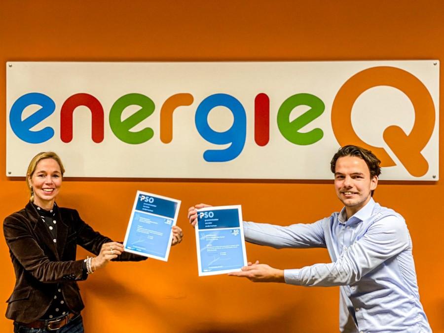EnergieQ Sterk Sociaal B.V. aantoonbaar sociale organisatie!