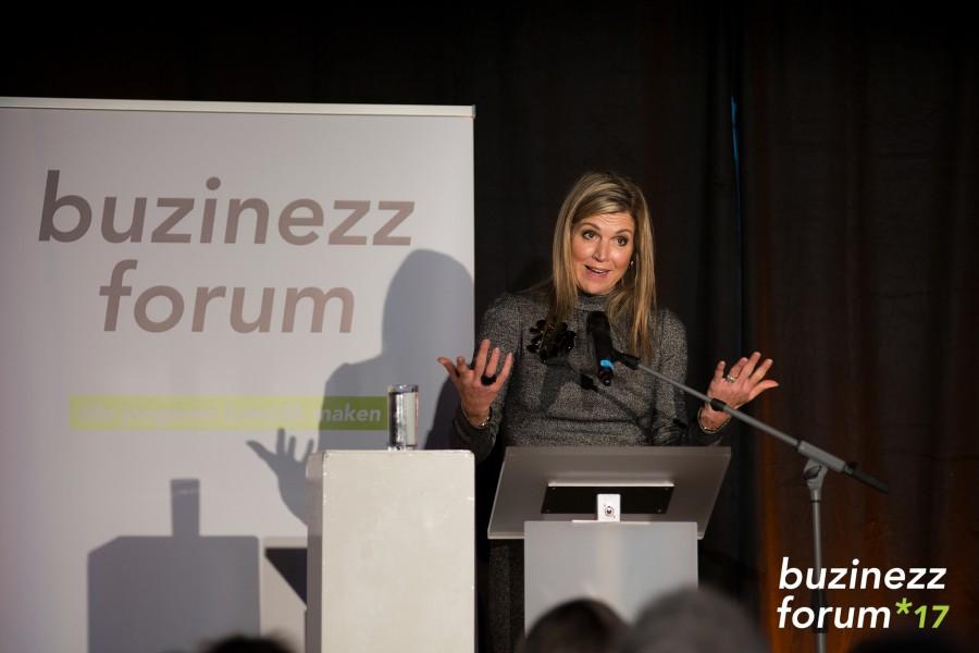 Toespraak van Koningin Máxima bij de opening eerste Buzinezz Forum