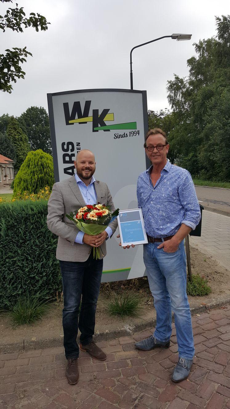 PSO-Trede 2 voor W. Ketelaars Holding BV