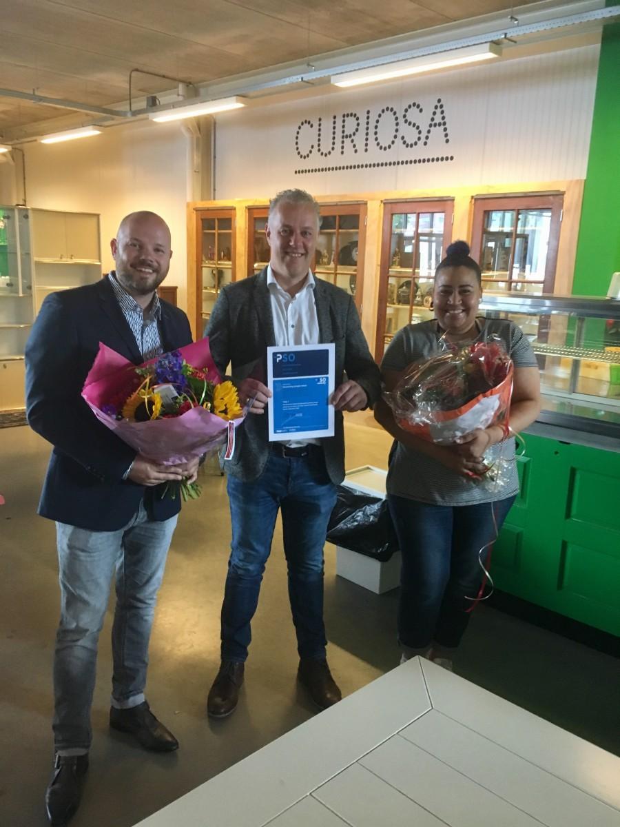 Stichting RataPlan erkend voor Trede 3 op PSO-Prestatieladder Socialer Ondernemen