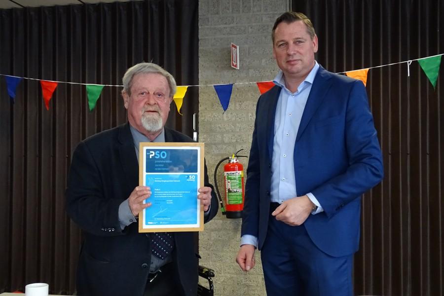 Stichting Kringloopwinkel Helmond ontvangt keurmerk voor socialer ondernemen PSO Trede 3