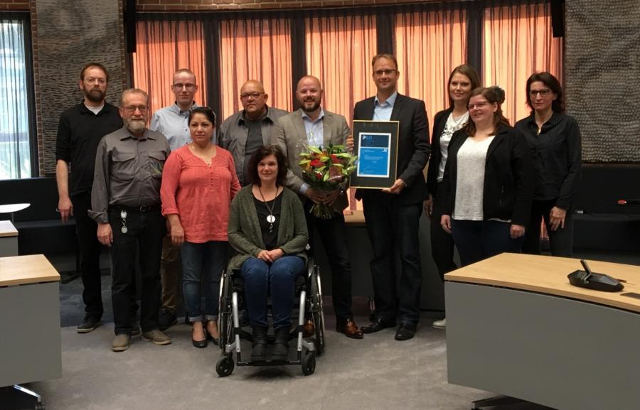 Gemeente Meierijstad is erkend als inclusief werkgever met PSO Trede 3