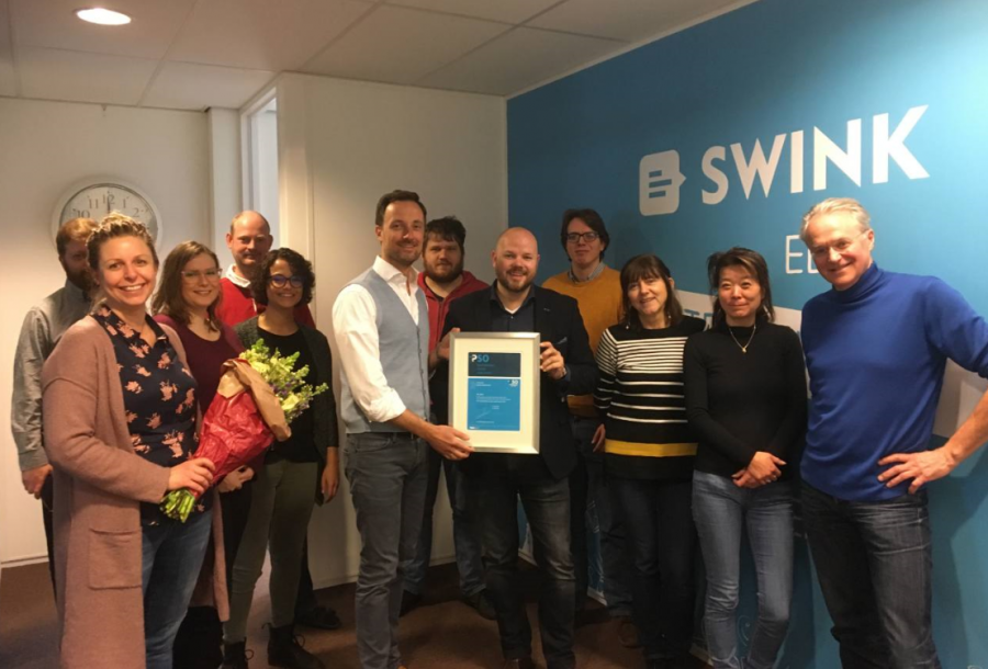 Swink webservices: ''Door sociaal ondernemen geef je als bedrijf een stukje terug aan de maatschappij.''