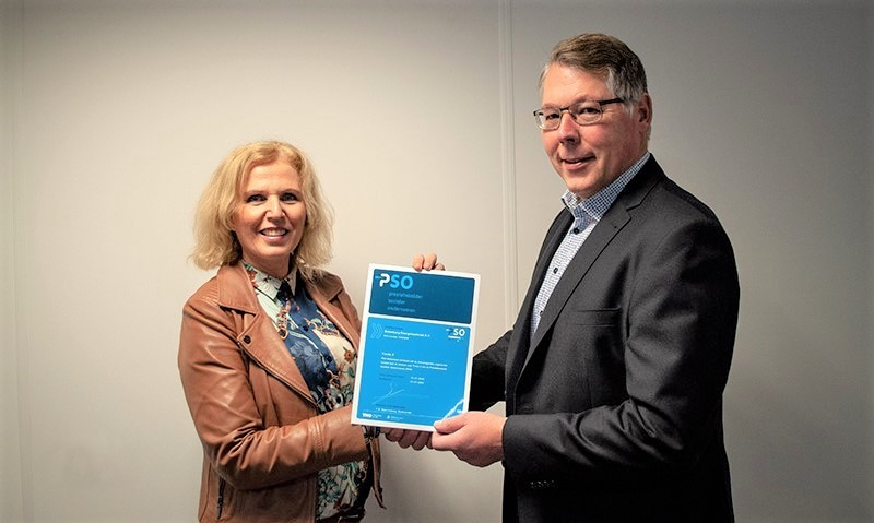 PSO-trede 2 voor Batenburg Energietechniek B.V.