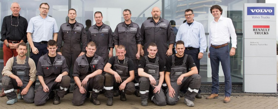Bluekens Truck en Bus verlengt met succes trede 2-certificering
