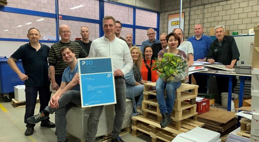 Hoogst haalbare PSO-erkenning voor Ctrl-P B.V.: 'Sociaal ondernemen is diep verankerd binnen onze bedrijfscultuur'
