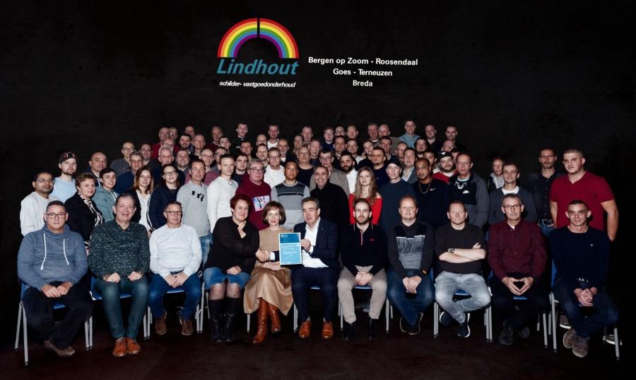 Lindhout Schilder- Vastgoedonderhoud groeit op PSO-prestatieladder en behaalt trede 3
